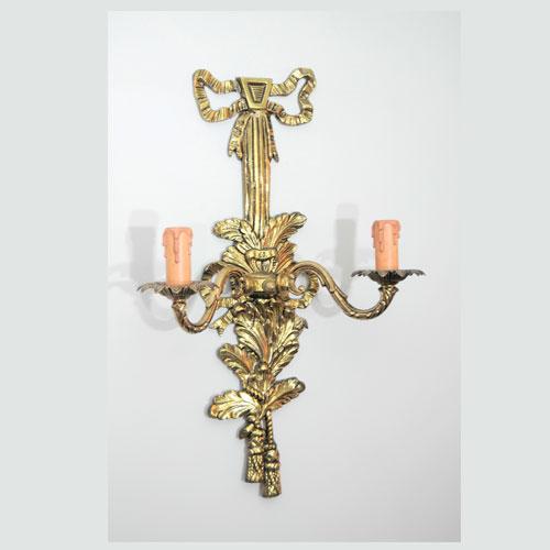 Lamparas cebria fabricaci n restauraci n y repuestos de for Apliques de bronce para muebles