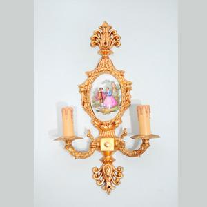 Apliques lamparas de pared y apliques para lamparas lamparas cebria - Apliques de pared clasicos ...