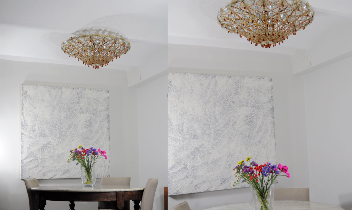 Iluminacion techos bajos elegant plafn quatro con mando a - Iluminacion para techos bajos ...