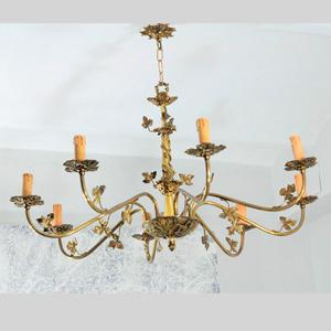 L mparas de techo lamparas antiguas restauracion de lamparas lamparas cebria - Lamparas clasicas de techo ...