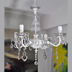 L mparas de techo lamparas antiguas restauracion de - Lamparas de cristal antiguas ...