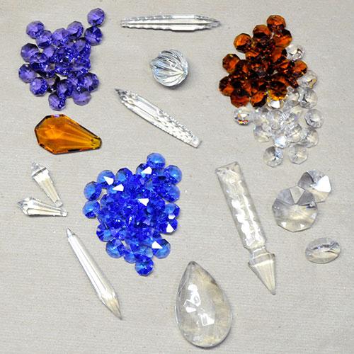 Lamparas cebria fabricaci n restauraci n y repuestos de - Lamparas de cristal de colores ...