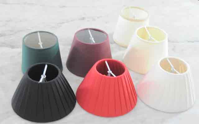 Pantallas nuevas y restauracion de pantallas lamparas cebria - Como hacer una lampara de pared ...