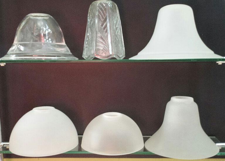 repuestos tulipas de cristal lamparas cebria