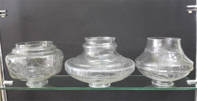 Repuestos tulipas de cristal lamparas cebria - Lamparas cristal antiguas ...